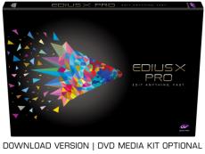 EDIUS X Pro Upgrade von Pro 9 oder Workgroup 9