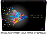 EDIUS X Workgroup Upgrade von EDIUS Workgroup 9