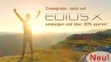 EDIUS X Pro Jump 2 Upgrade  (Crossgrade) von anderer Schnittsoftware mit Kauf/Mietpreis von >200€